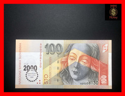SLOVAKIA 100 Korun 2000  P. 36  *commemorative*    UNC - Slovacchia