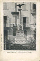 CV 74 - SALSOMAGGIORE - MONUMENTO AI FONDATORI DEI BAGNI - Parma