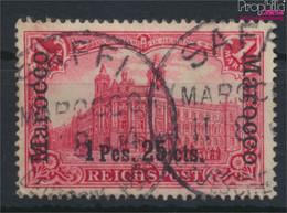 Dt. Post Marokko 16I Gestempelt 1900 Germania-Aufdruck (9640372 - Ufficio: Marocco
