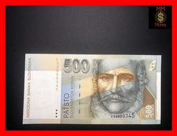 SLOVAKIA  500 Korun 31.10.1996   P. 27   *scarce Note*   XF \ AU - Slovacchia