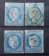 LA GRANDE CASSURE 4 CÉRÈS N°60 VARIÉTÉ 146A2 - 1871-1875 Ceres
