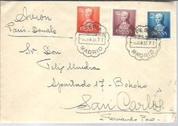 MATASELLOS 1951   FERIA DEL LIBRO MADRID - 1951-60 Cartas