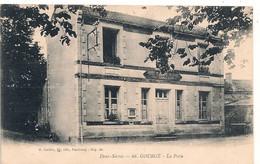 Cpa 79 Gourgé La Poste - Sonstige Gemeinden
