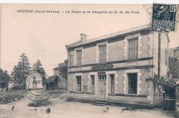 Cpa 79 Gourgé La Poste La Chapelle - Sonstige Gemeinden