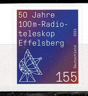 Bund 2021,Michel# 3622 ** 50 Jahre 100n Radioteleskop Effelsberg, Selbstklebend - Nuevos