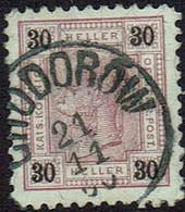 Österreich 1899,  MiNr 77b,  Gestempelt - Gebruikt