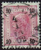 Österreich 1901,  MiNr 89a,  Gestempelt - Gebraucht