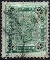 Österreich 1901,  MiNr 93b,  Gestempelt - Gebraucht