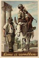 CPA - WW2 WWII - RSI, Repubblica Sociale Italiana (306) - D. COSCIA - Come Ci Vorrebbero - Black Americana - NV - WN060 - War 1939-45
