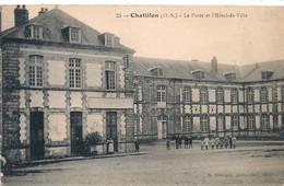 Cpa 79  Chatillon La Poste - Mauleon