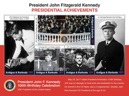 Antigua & Barbuda  2017  JFK ,John. F. Kennedy - Antigua Und Barbuda (1981-...)