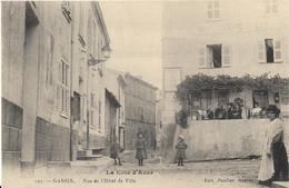 CPA-GASSIN-Rue De L'hotel De Ville - Otros Municipios