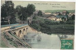 CPA  OYE Et PALLET    Le Pont De Pallet  N° 212   ( Passage D'un Train ) - Other Municipalities