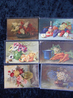 Lot De 6 Ancienne Cartes En Couleur   Voir Scan - 5 - 99 Cartes