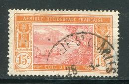 COTE D'IVOIRE- Y&T N°46- Oblitéré - Usati