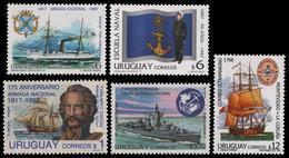 Uruguay 1993-1998 - Mi-Nr. 5 Komplette Ausgaben ** - MNH - Schiffe / Ships - Uruguay