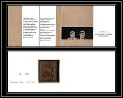 Nord Yemen YAR - 3931/ N°860 B KENNEDY Non Dentelé Imperf 1968 OR Or 21 Caratsgold Stamps  Neuf ** MNH BOOKLET - Yemen