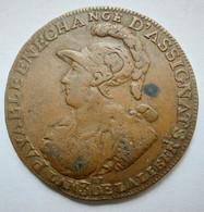 CAISSE DE BONNEFOY 2 SOLS 6 DENIERS 1792 - 1789-1795 Period: Revolution