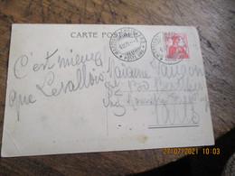 1911 Martigny Chatelard Post Amb  Poste Ferroviaire Suisse - Covers & Documents
