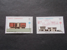 TURQUIE   -  CEPT   N° 2533 / 34  Année 1987  Neuf XX ( Voir Photo ) - 1987