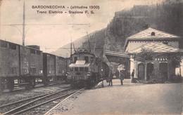 Italia  - BARDONECCHIA, Treno Elettrico, Stazione - Trasporti