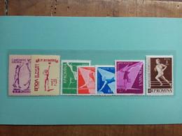 ROMANIA - Serie Sport Anni '50 - Nuovi ** + Spese Postali - Unused Stamps