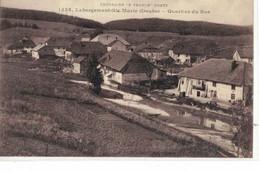 CPA  LABERGEMENT - ST-MARIE   Quartier Du Bas  N° 1538 - Andere Gemeenten