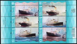 Poland 2021 Polish Transatlantics  Polonia Pulaski Kosciuszko Full Of Sheet Stamps MNH** New - Barcos