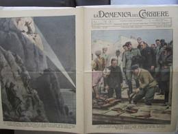 # DOMENICA DEL CORRIERE N 44 / 1934 IL DUCE INIZIA I LAVORI AL MAUSOLEO AUGUSTO / FASCISTI FIORENTINI CADUTI - Prime Edizioni