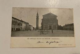 UN CORDIALE SALUTO DA BIGOLINO (VALDOBBIADENE) - Treviso