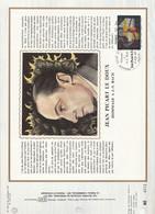 DOCUMENT FDC 1980 TAPISSERIE DE JEAN PICART LE DOUX - 1980-1989