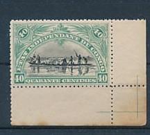"""BELGIAN CONGO 1894/1900 ISSUE """"MOLS"""" 40C BLUE GREEN COB 23 MNH - 1894-1923 Mols: Neufs"""