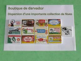 TC7 / Fève / Série De Fèves Complète : Les Plaquettes De Beurre , Poitou-charentes , 2005 - Other