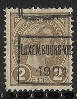 Luxembourg 1901 Prifix Nr. 3C - Precancels