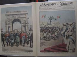 # DOMENICA DEL CORRIERE N 46 / 1934 IL RE IN SOMALIA / GENOVA , ULTIMO DEI MILLE / NAZIONALE A LONDRA - Prime Edizioni
