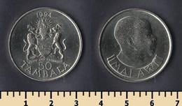 Malawi 50 Tambala 1994 - Malawi