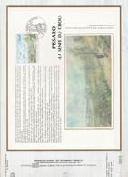 DOCUMENT 1981 PEINTURE DE PISSARRO - 1980-1989
