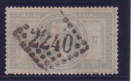 FRANCE : N° 33 A . OBL . B . SIGNE BRUN ET SCHELLER . 1869 . - 1849-1876: Classic Period