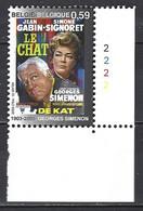 Cob 3168 Affiche Cinéma : Le Chat  -cdf N° Planche ** - 2001-2010