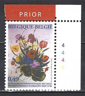 Cob 3166 Cdf N° Planche-Floralies Internationales De Liège  ** - 2001-2010