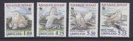 Greenland 1999 WWF / Owls 4v ** Mnh (53403A) - Nuevos