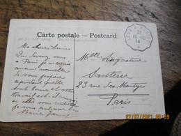 Lege A Nantes  Ambulant Convoyeur Poste Ferroviaire - Railway Post