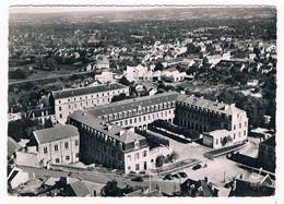 D 23 - Cpsm - En Avion Au-dessus De GUERET  - Lycée Pierre Bourdan ( Garçon) - Guéret