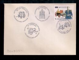 Enveloppe Argentine 1996 Avec Timbre Spécial Et Cachet De La Poste Pompiers - Sapeurs-Pompiers