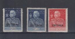 Italien Michel Cat.No. Eritrea Vlh/* 101/103 - Eritrea