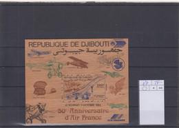 Djibouti Michel Cat.No. Mnh/** Sheet 87 Concord - Djibouti (1977-...)