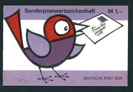 DDR Sonder Markenheftchen Michel Nummer SMHD37a Postfrisch Mit Mi.Nr. 3226 - Booklets