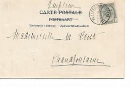 REF4673/ TP 53 S/CP Entrée Du Château De Beusdael écrit De Braesberg  C.Bleyberg (Montzen) 1904 > Chaudfontaine - Posta Rurale