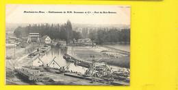 MONCHANIN Les MINES Port Du Bois Bretoux Schneider (Martet) Saône Et Loire (71) - Autres Communes