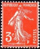 France - N°  278 A * Semeuse De Roty. Le 3c Orange - Nuovi